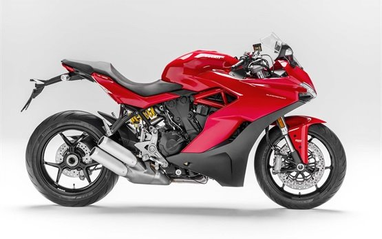 Ducati Supersport - motorbike rental Milan