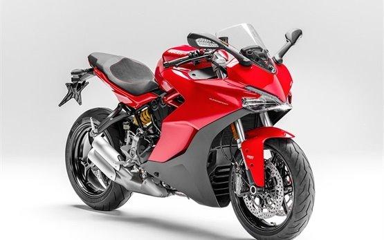 Дукати Суперспорт - прокат мотоцикла Рим