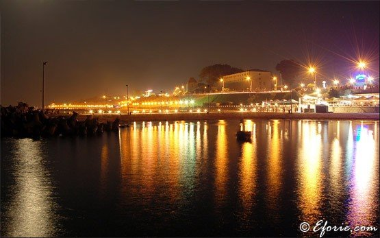 Eforie At Night