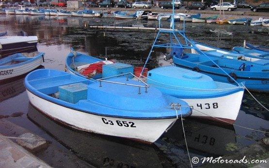 Рыбацкие лодки - Созополь