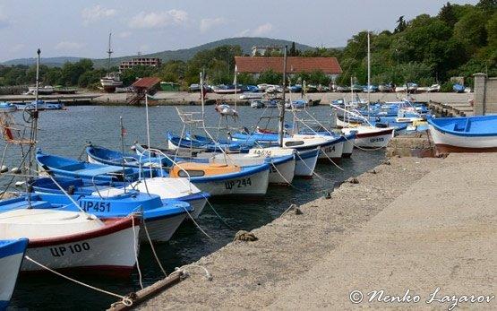 Рыбацкие лодки - Царево