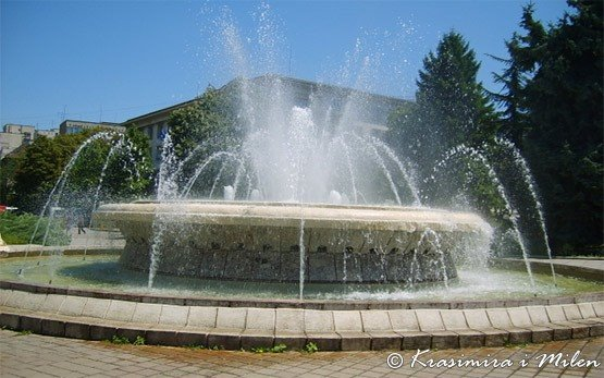 Fountains in Rousse