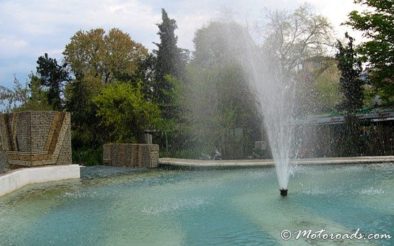 Fountains in Sandanski