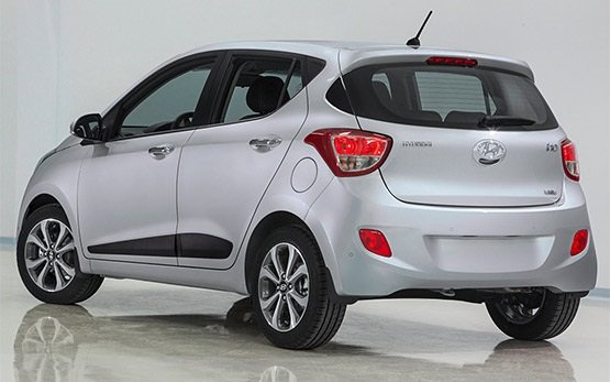 Back side view » 2011 Hyundai i10