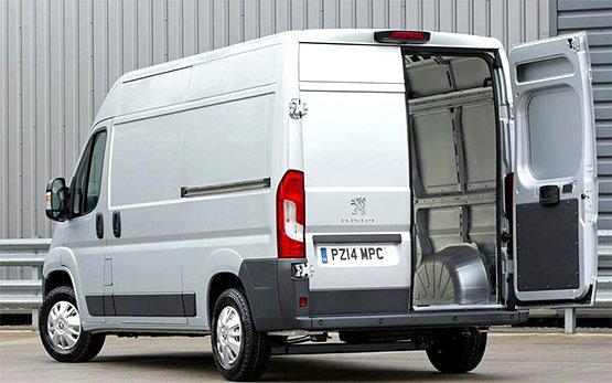 Back view » 2016 Peugeot Boxer Cargo