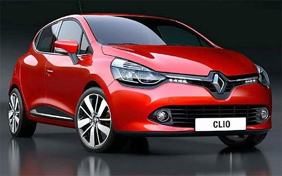 Front view » 2015 Renault Clio 1.2i Hatch