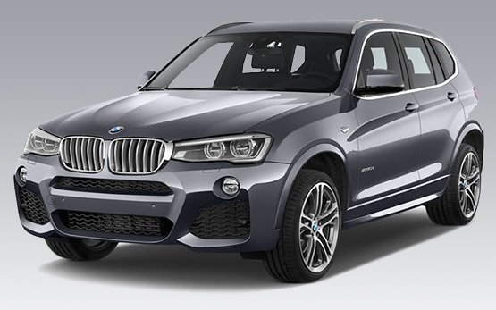 Vista frontal » 2016 BMW X3 AUTO