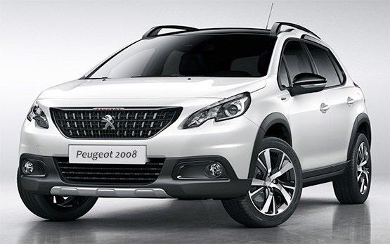 Front view » 2016 Peugeot 2008 AUTO