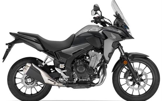 Honda CB500X - alquilar una motocicleta en Creta - Aeropuerto de Heraclión