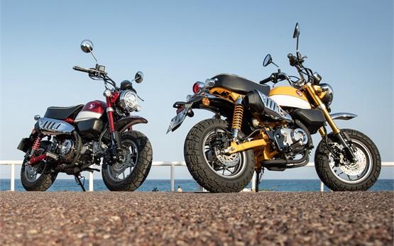 Honda Monkey 125cc - мотоциклет под наем в Испания