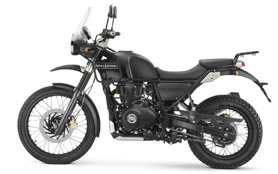 Royal Enfield Himalayan 411 - motorbike hire Barcelona