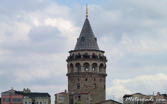 Кулата Галата- квартал Бейоглу на Истанбул