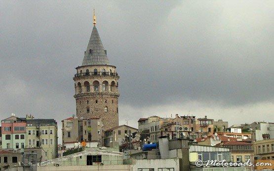 Башня Галата в комплексе Бейоглу в Стамбуле