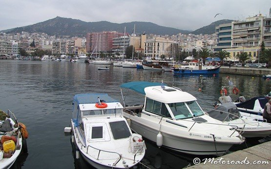 Harbour of the City of Kavala