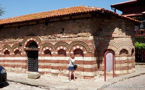 Historic building, the world cultural heritage of Nessebar