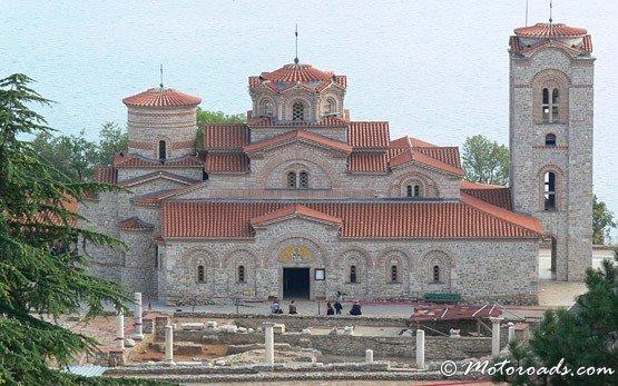 Исторические здания в городе Охрид