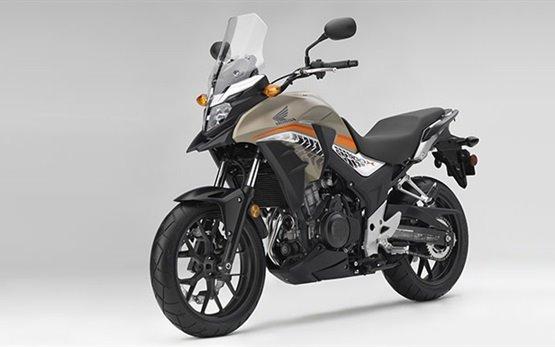 Honda CB500X - motorcycle rental in Lisbon Portugal