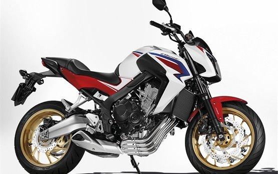 HONDA CBF650 bike rental in Turkey