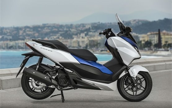 2017 Honda Forza 125cc Scooter Rental In Nice France