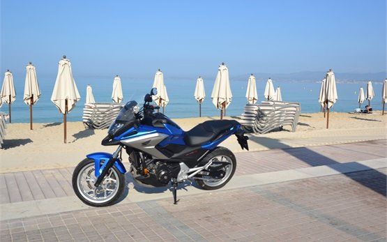 Honda NC750X - motorcycle rental in Mallorca, Spain