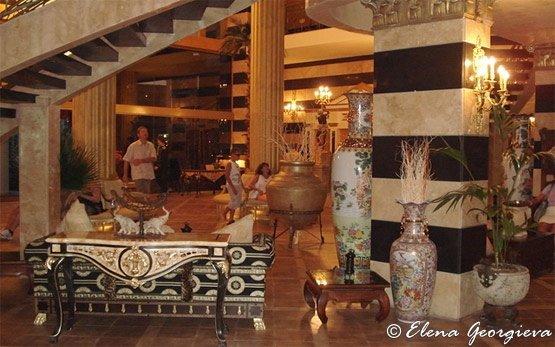 Внутри отеля - Солнечный берег