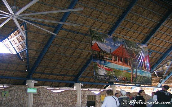 Inside Punta Cana International Airport