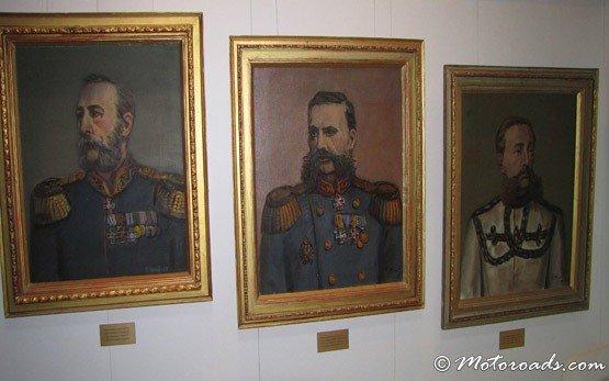 Inside Shipka Memorial