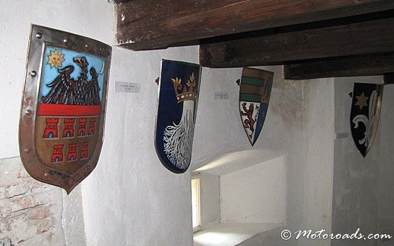 Inside the Castle In Bran