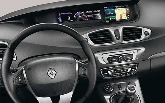 2014 renault grand scenic 5 2 car hire in istanbul cheap for Interior renault scenic