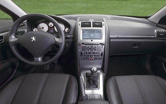 Interior » 2008 Peugeot 407