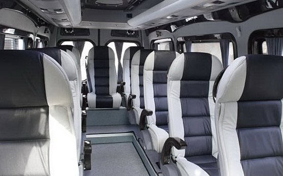 Interior » 2012 Mercedes Sprinter 14+1