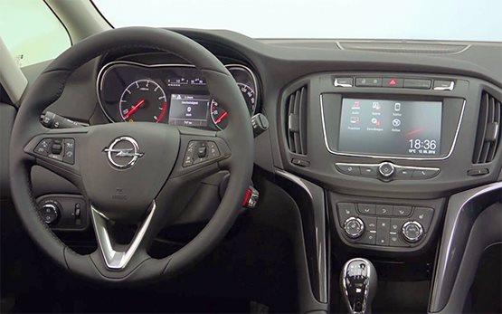 Interior » 2016 Opel Zafira 6+1 AUTOMATIC