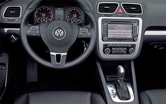 Innenansicht » 2009 Volkswagen Eos Cabriolet