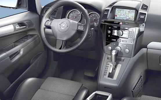 2010 opel zafira 1 9 tdi auto car hire in plovdiv cheap for Opel zafira interieur