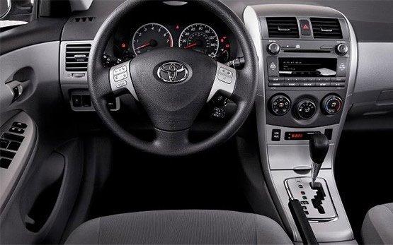 Interior » 2012 Toyota Corolla auto
