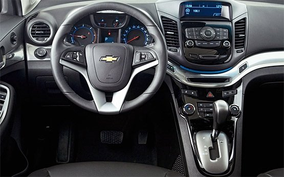 Interior » 2013 Chevrolet Orlando 5+2 seats
