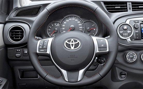 Innenansicht » 2013 Toyota Yaris