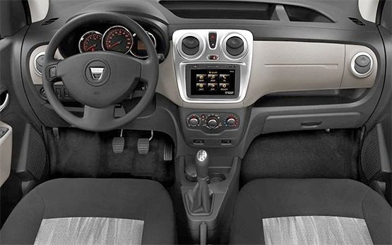 Interior » 2015 Dacia Logan 1.5 D