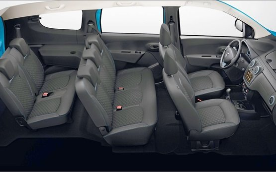 Interior » 2016 Dacia Lodgy 5+2