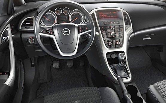Innenansicht » 2016 Opel Astra Hatchback