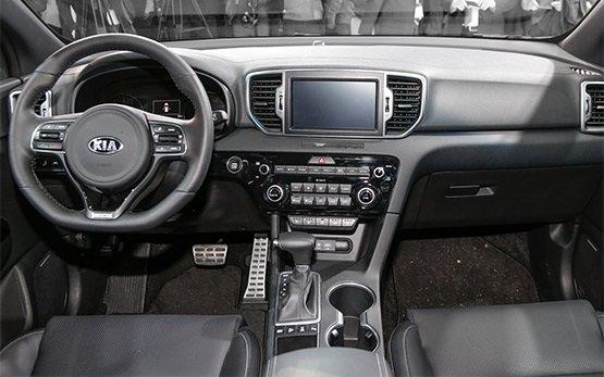 Interior - 2017 KIA SPORTAGE 2.0 AUTO