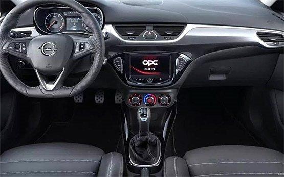 Interior» 2017 Opel Corsa 1.4 l