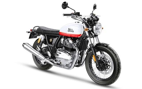 Royal Enfield Interceptor 650 - alquiler de motocicletas en Barcelona