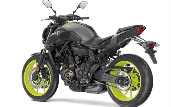 Yamaha MT-07  - Motorradvermietung Tarragona