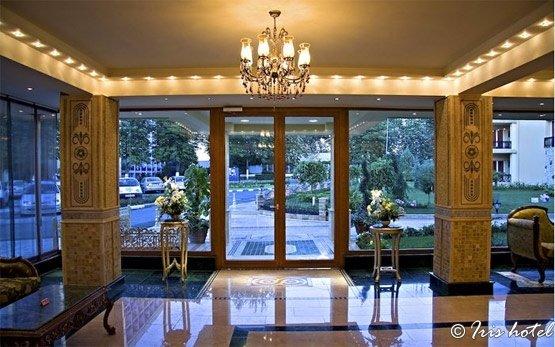 Lobby of Iris Hotel