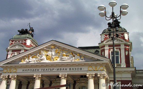Ivan Vazov National Theatre in Sofia