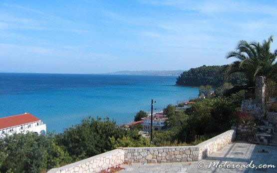 Kassandra peninsula - panorama