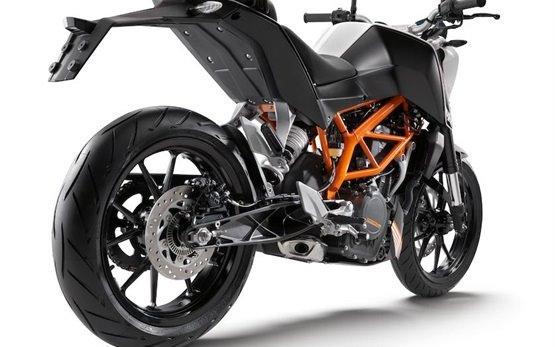 KTM Duke 390 - прокат мотоциклов Индия
