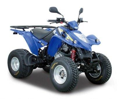 Kymco 250cc - ATV rental Karpathos