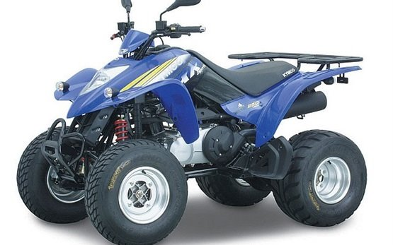 Kymco 250cc - quad rental Karpathos Greece